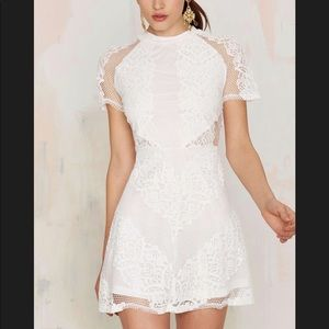 Nasty gal Lace Mini Dress NWT!